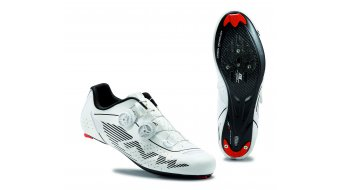 Northwave Evolution Plus Wide Rennrad Schuhe reflective white