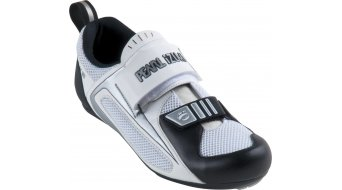 Pearl Izumi Tri Fly Triathlon- shoes size 45.0 white/black winter 11/12