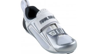 Pearl Izumi Women Tri Fly Triathlon- shoes size 40.0 white/silver winter 11/12