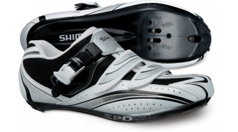 Shimano SH-R087W road bike Sport- shoes white/black 2012