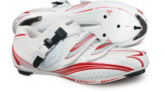 Shimano SH-R106 road bike competition- shoes size 40 white/red