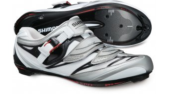 Shimano SH-R133 road bike competition- shoes size 47 white/black 2012