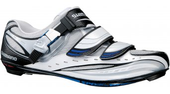 Shimano SH-R190 road bike competition-shoes pearl white/blue 2011