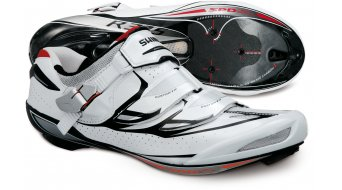 Shimano SH-R315 wide road bike competition- shoes size 39E white/black/red