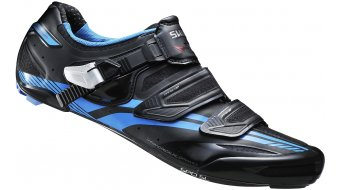Shimano SH-R320L wide shoes road bike- shoes Pro-Tour-Racing Custom-Fit black/blue