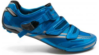 Shimano SH-R320B road bike Pro-Tour-Racing Custom-Fit- shoes size 45 blue- LIMITED EDITION