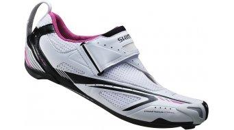Shimano SH-WT60 SPD-SL Señoras zapatillas Triathlon-zapatillas blanco/negro