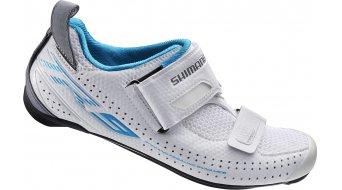 Shimano SH-TR9W SPD-SL Señoras zapatillas Triathlon-zapatillas blanco(-a)