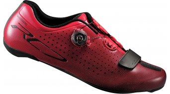 Shimano SH-RC7R SPD-SL chaussures vélo de course-chaussures taille rouge