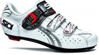 Sidi Genius 5 Fit Mega road bike shoes white/white