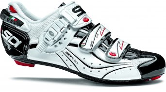 Sidi Genius 6.6 carbon Vernice road bike shoes white/white/black 2014