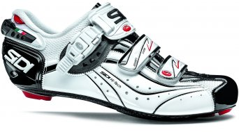 Sidi Genius 6.6 carbon Mega Vernice road bike shoes white/white/black 2014