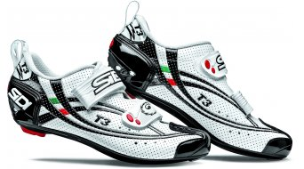 Sidi T3 Air carbon Composite Triathlon shoes white/black 2013