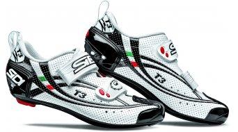 Sidi T3 Air carbon Composite Triathlon shoes white/black 2014