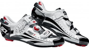 Sidi Ergo 3 carbon Vernice road bike shoes white/black 2014