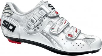 Sidi Genius 5 Fit carbon Vernice ladies road bike shoes white/white 2016