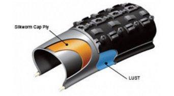 Querschnitt eines Maxxis Larsen TT LUST-Reifens