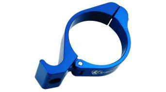K-Edge Adapterschelle für Anlöt-Befestigung 31.8mm blue
