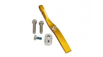 K-Edge Pro Double Road guía de cadenas para soldar a-fijación dorado(-a)