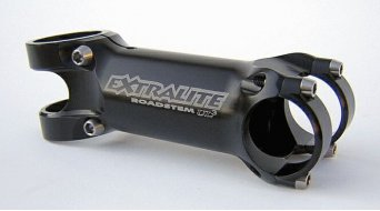 Extralite RoadStem UL3 stem 1 1/8 +/- 8° black (titanium screws )