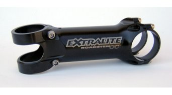 Extralite RoadStem OC stem 1 1/8 31.8x90mm +/- 8° black (titanium screws )