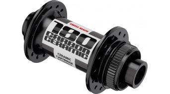 DT Swiss 180 carbono Ceramic Disc bici carretera buje rueda delantera Loch 15x100mm Centerlock negro(-a)