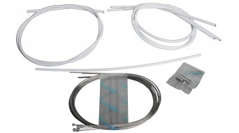 Campagnolo Ergopower Schalt-/Bremszug Set mit Innen- & Außenzügen weiß, nur für Rennrad CG-ER600W
