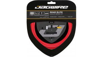 Jagwire Road Elite Sealed Bremszugset rot