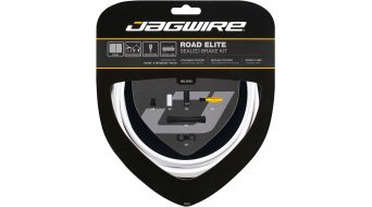 Jagwire Road Elite Sealed Bremszugset weiß