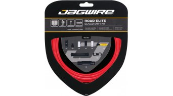 Jagwire Road Elite Sealed juego cable de cambio rojo(-a)