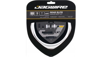 Jagwire Road Elite Sealed juego cable de cambio blanco(-a)
