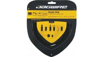 Jagwire Road Pro Schalt-/Bremszugset schwarz