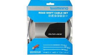 Shimano BC-9000 Polymer Road juego cable de cambio hi-tec gris