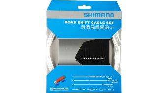 Shimano BC-9000 Polymer Road Schaltzug-Set weiß
