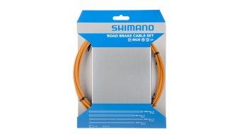 Shimano OT-SP41 PTFE Road set cavi freno orange