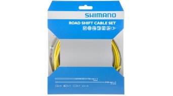 Shimano OT-SP41 PTFE Road set cavi cambio giallo