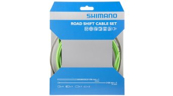 Shimano OT-SP41 PTFE Road juego cable de cambio verde