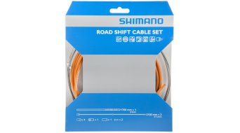 Shimano OT-SP41 PTFE Road juego cable de cambio naranja