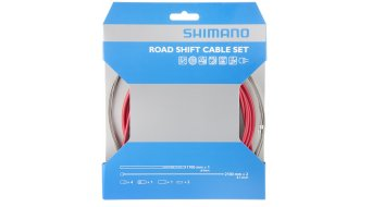 Shimano OT-SP41 PTFE Road juego cable de cambio rojo(-a)