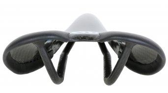 AX Lightness Endurance Plus 3K carbone VTT/Road selle 3K-carbone/cuir noir (à-100kg-poids du cycliste)