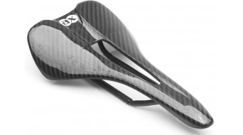 AX Lightness Leaf 3K carbon saddle (to-100kg-Fahrergewicht)
