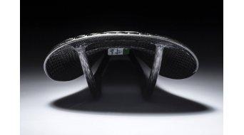 AX Lightness Leaf pelle 3K sella in carbonio 3K-carbonio/pelle nero (max.100kg)