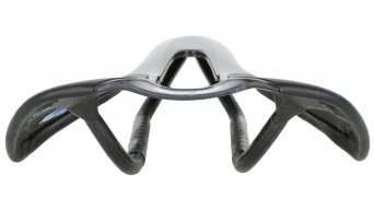 AX Lightness Leaf Plus 3K Carbon Sattel 3K-carbon / Leder schwarz (bis-100kg-Fahrergewicht)