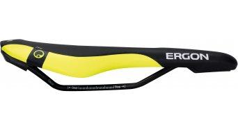 Ergon SME3 Pro Enduro sillín tamaño S negro/laser lemon