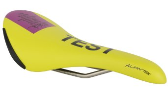 Fizik Aliante R3 road bike saddle k:ium- frame 138x280mm yellow/purple- TEST saddle
