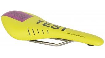 Fizik Antares R3 Rennrad Sattel k:ium-Gestell 142x274mm yellow/purple - TESTSATTEL