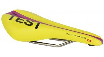 Fizik Antares Versus X bici carretera sillín k:ium-soporte 142x274mm amarillo/purple- SILLÍN DE TEST