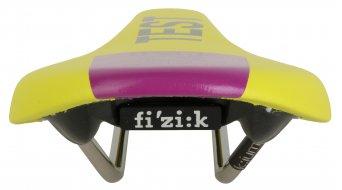 Fizik Tundra M3 MTB sillín k:ium-soporte 125x290mm amarillo/purple- SILLÍN DE TEST