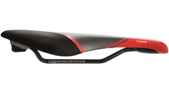 Fizik Thar 29er MTB Sattel Magnesium-Gestell black/red