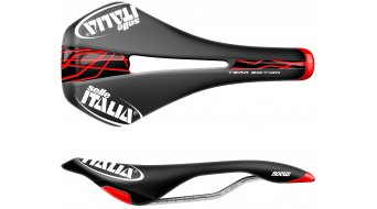 Selle Italia Novus Flow sella Team Edition telaio in Ti316 . nero